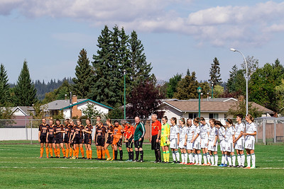 UNBC Womans Soccer - Timberwolves Vs. TRU Wolfpack