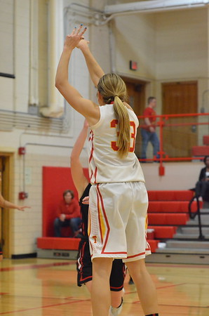 CHS Girls vs Mt. Zion  January 7, 2015