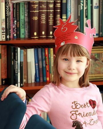 6 ára afmæli Kristínar Lovísu 8. mars 2008