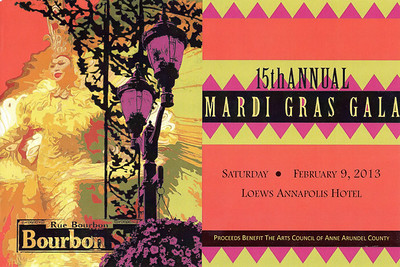 ACAAC Mardi Gras Gala 2013