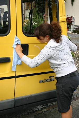 18.08.2007 - Pflege GETU-Bus