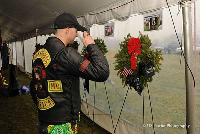 Wreaths Across America (RI Veterans Memorial Cemetery), 14 DEC 19