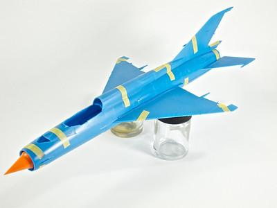 "1:48 Eduard MiG-21MF ""Bunny Fighter"""