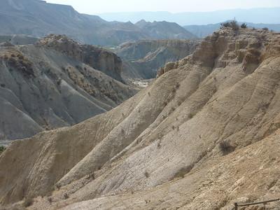 Strange goings on in the Tabernas Desert Badlands