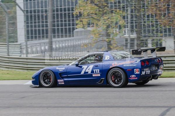 KL 74 Blue Corvette