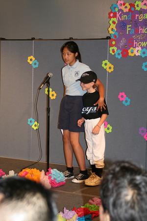 Kindergarten Fashion Show 2010