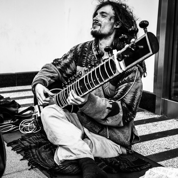 Blissed Out Sitar Man