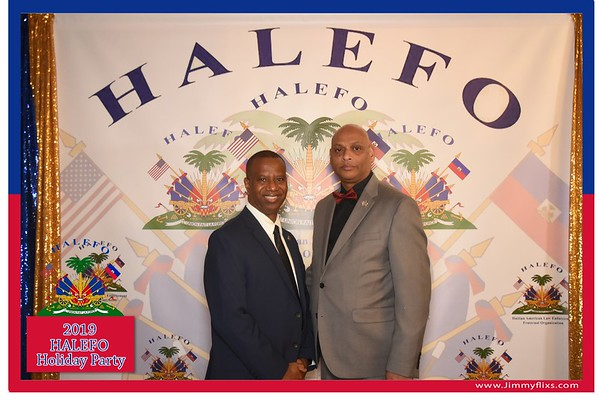HALEFO BLACK TIE DINNER DANCE & HOLIDAY PARTY 2019