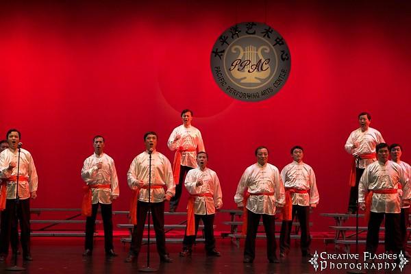Hero Song by Huayin Performing Arts Group Male Chorus