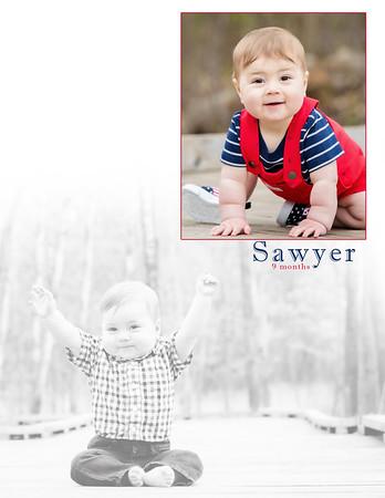 Sawyer 9 Months