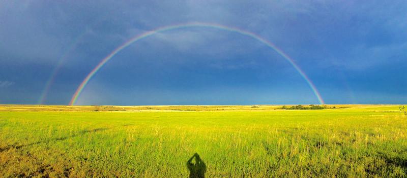 """0.68"""" rain and a rainbow"""