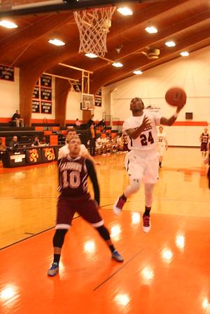 JV Basketball vs. Playoffs - Fishburne