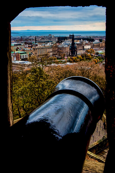 The Cannons of Edinburgh Castle