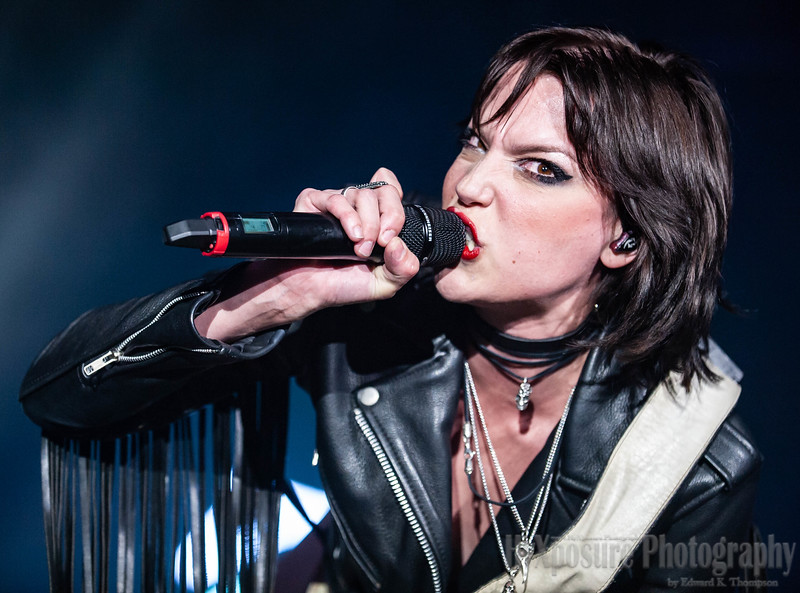 Halestorm LIVE Pittsburgh's Stage AE Outdoors