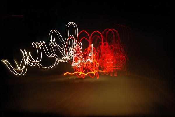 20091226 Car Lights on HWY1