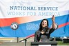 The 20th Anniversary of AmeriCorps is celebrated in Olympia, WA. Corporation for National and Community Service Photo.