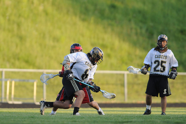 Linganore High at Frederick High - Boys Varsity Lacrosse