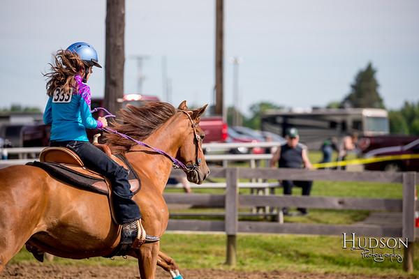 02. Pole Bending Horse, Jr. Rider