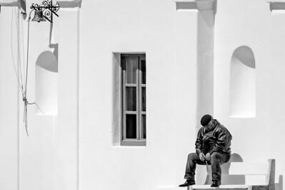 MYKONOS IN BLACK & WHITE