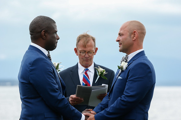 George and Anders Wedding - July 9, 2016