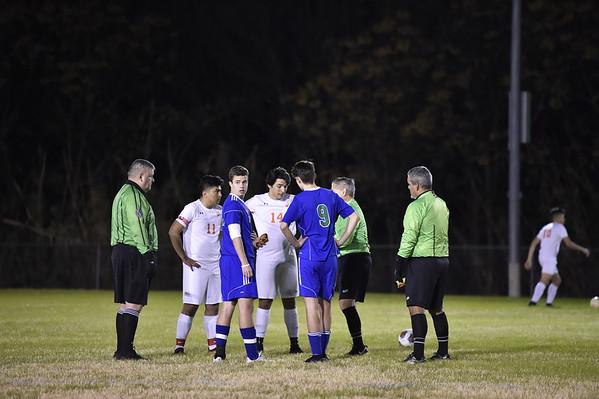 Varsity Soccer vs Cristo Rey 1.8.19
