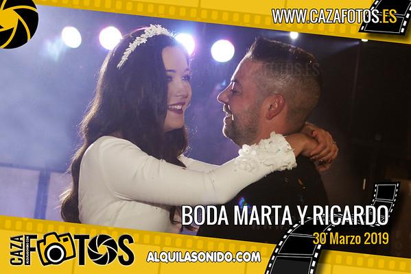 BODA MARTA Y RICARDO  - 30 MARZO 2019