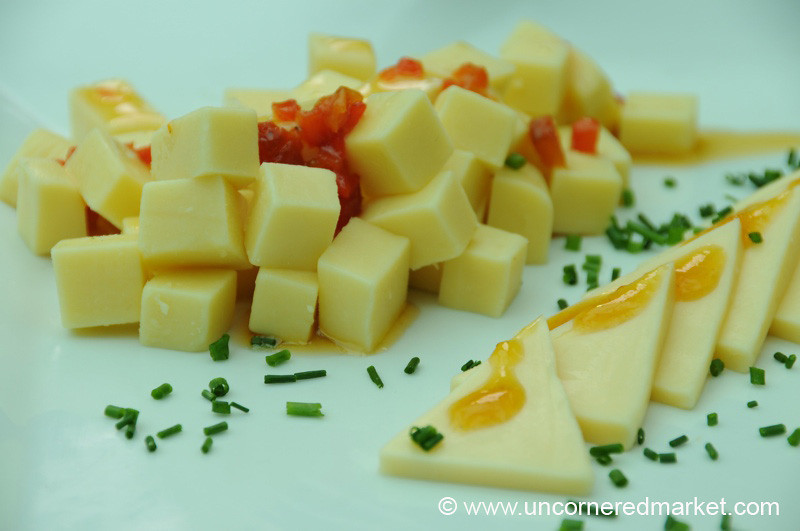 Creamy Otto Kunz Cheeses - Mistura Gastronomy Festival in Lima, Peru