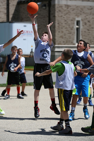 ND August 2013 Basketball Camp