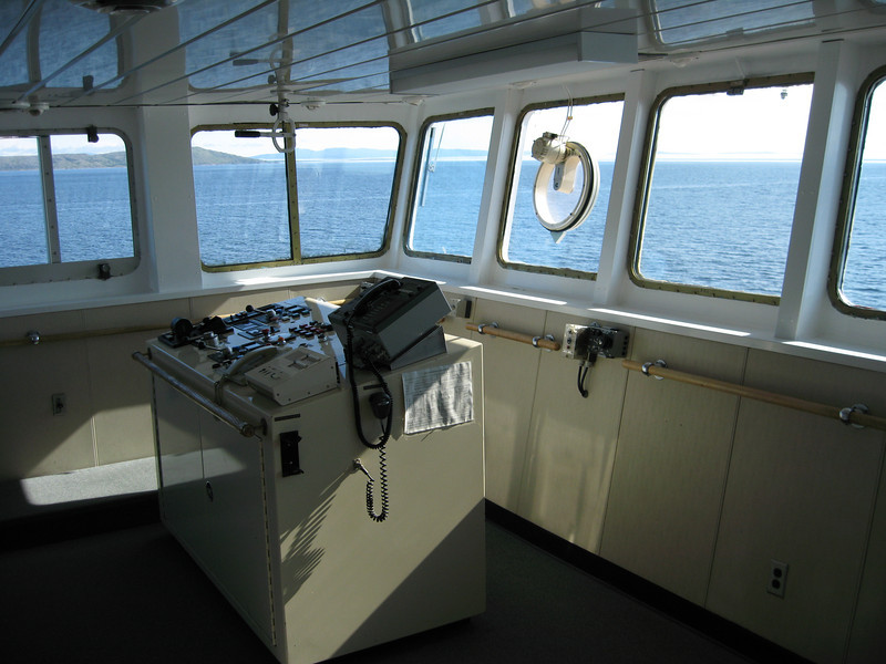 Bridge of the MV Northern Ranger