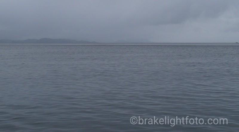 Looking Across Tian Bay at Louis Pt