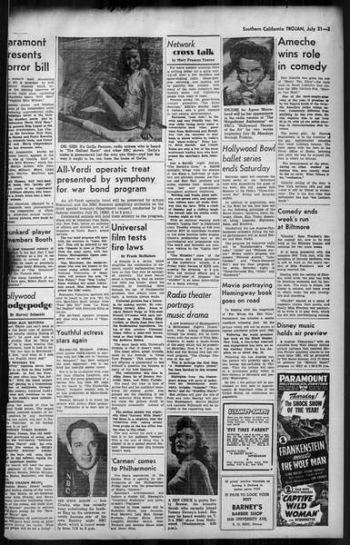 Southern California Trojan, Vol. 35, No. 8, July 21, 1943