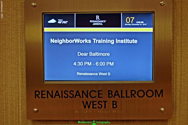 #DearBaltimore: NeighborWorks Training Institute 2015