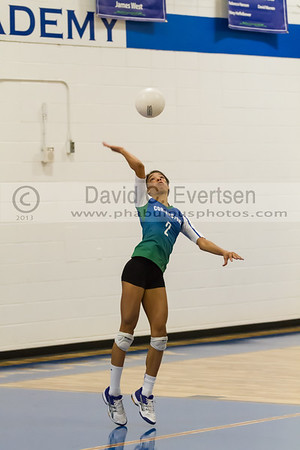 Masters Academy @ Cornerstnone Charter Academy Girls Varsity Volleyball - 2013