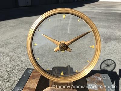 Golden Vision clock