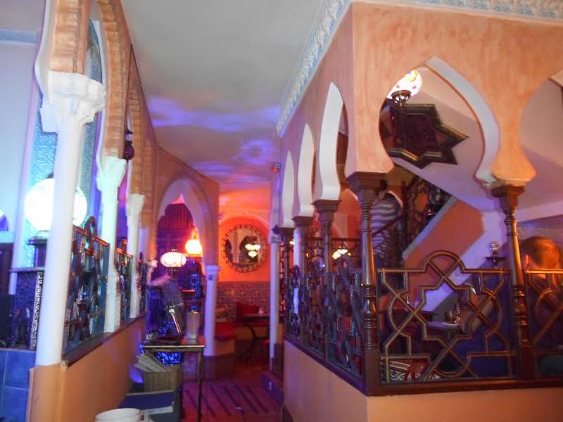 A Moorish style tea house in Granda.