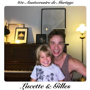 Lucette & Gilles - 40e anniversaire de mariage