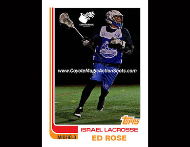 Israel Ed Rose 1982  TOPPS (NYS2016)