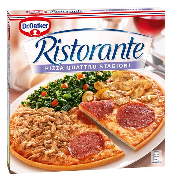 301199 Dr.OETKER Quattro Stagioni 370g Pizza Ristorante UUS 4001724027645