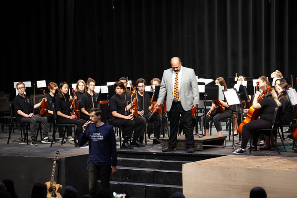 Orchestra and Guitar
