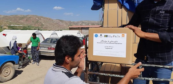 Flood Response in Lorestan Province