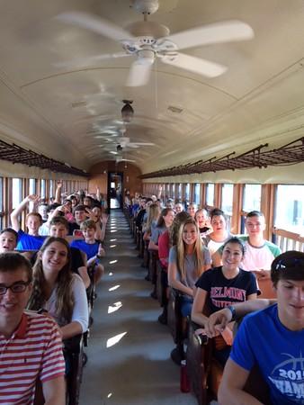 Railroad Field Trip 8th 12th