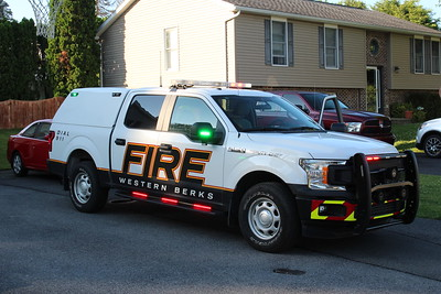 Apparatus shoot - Western Berks Fire Department
