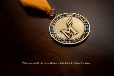 Presidential Faculty Excellence Award medal 2018