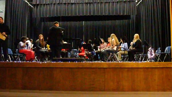 Watson Chapel Band Christmas 2014
