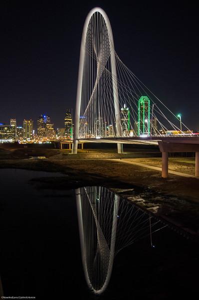 Dallas Bridge Reflection
