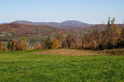 Blue Ridge Parkway October 2011