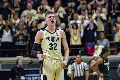 Purdue upsets #6 Michigan State