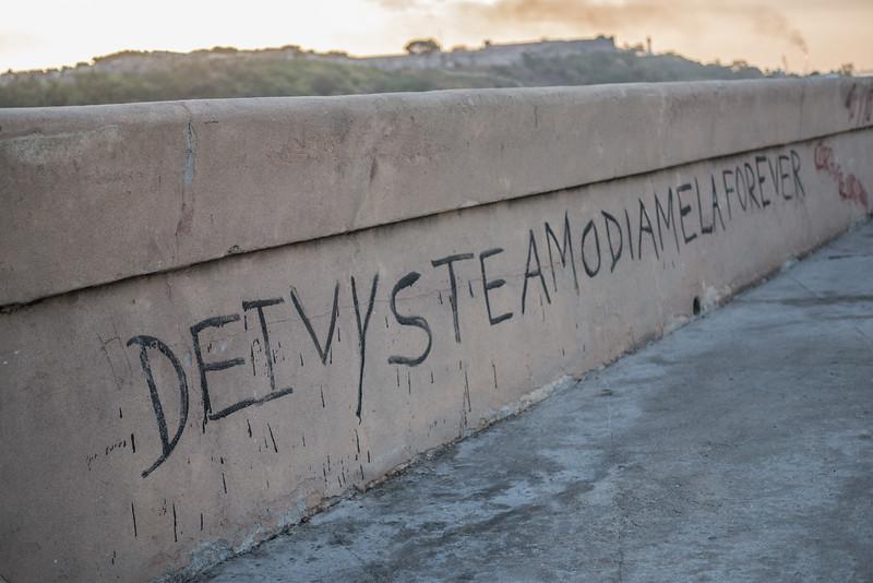Grafitti, Havana Malecon