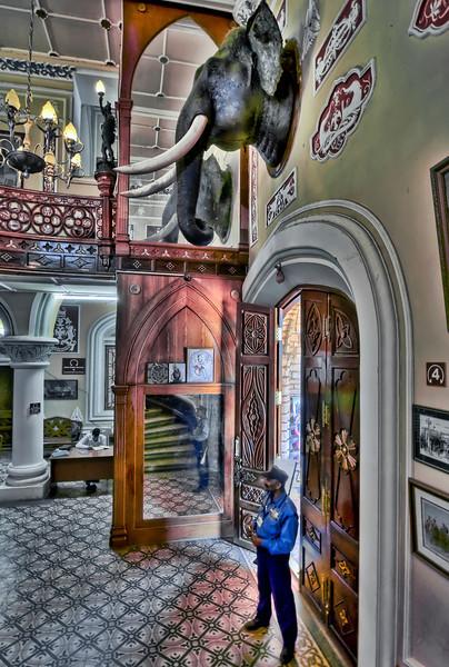 Maharaja Palace Foyer and Guard-Bangalore-India.jpg