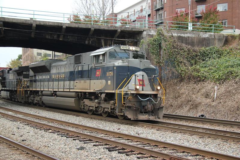 NS 231-07 Garden City, GA - Austell, GA intermodal NS 1070 Wabash Heritage NS 9433 NS Circle Atlanta, GA